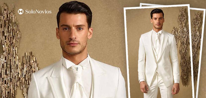 trajes de novio para bodas de verano