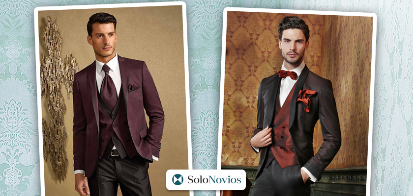 tendencias en trajes para novios