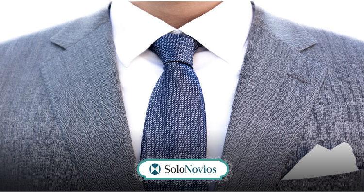 La corbata de novio, que se adapta a tu estilo
