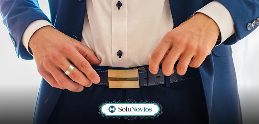 Cinturón para traje de novio